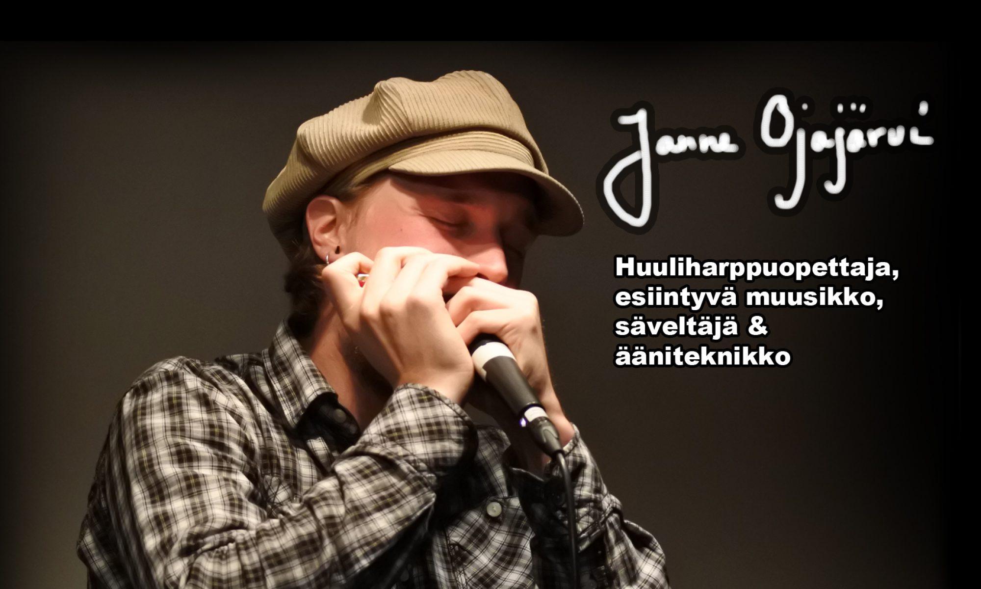 Janne Ojajärvi - huuliharput, yläsävelhuilut, laulu